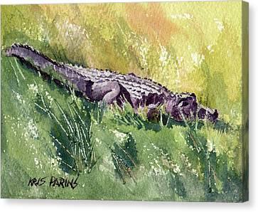 Carefree Carnivore Canvas Print