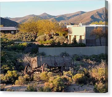 Carefree Arizona Canvas Print - Carefree Sunset by Gordon Beck