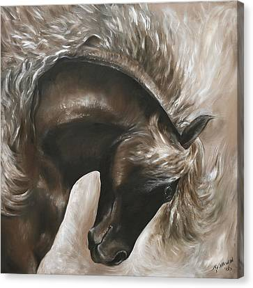 Careless And Free Canvas Print by Paula Collewijn -  The Art of Horses