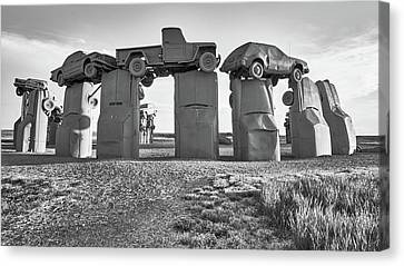 Junk Canvas Print - Carhenge by Jim Hughes