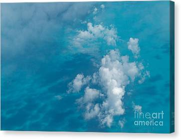 Caribbean Abstraction Canvas Print by Charles Kozierok