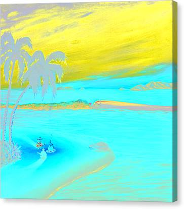 Caribbean Dreaming Canvas Print by Patrick Parker