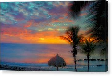 Caribbean Dreams Canvas Print by Stephen Anderson