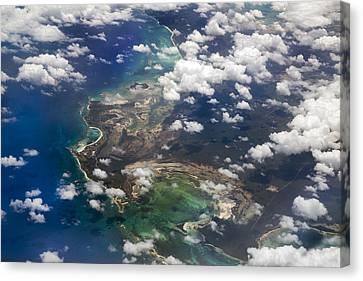 Caribbean Limitless Sky Canvas Print by Betsy Knapp