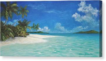Caribbean Seclusion Canvas Print