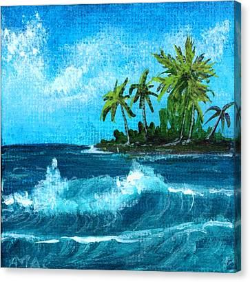 Canvas Print - Caribbean Vacation #2 by Anastasiya Malakhova