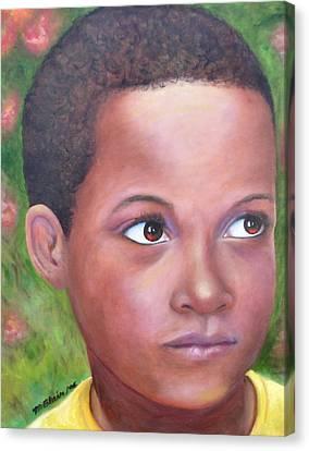 Caribe Child Canvas Print by Merle Blair