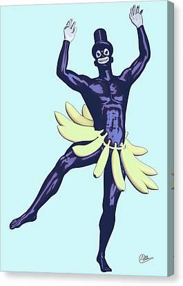 Caribean Showman Canvas Print by Quim Abella
