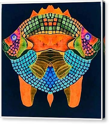 Caribean Fish Canvas Print