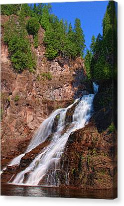 Caribou Falls Canvas Print