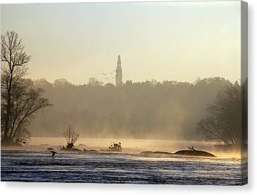 Carillon Mist Canvas Print