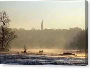 Carillon Mist Canvas Print by Kelvin Booker