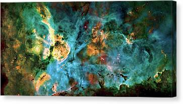 Carina Nebula 2  Canvas Print by Jennifer Rondinelli Reilly - Fine Art Photography