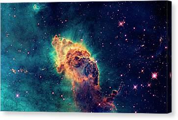 Carina Nebula Detail Canvas Print by Weston Westmoreland