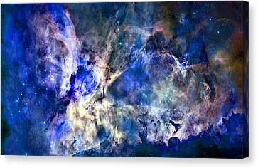 Carinae Nebula Canvas Print by Michael Tompsett