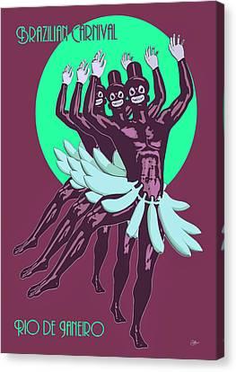 Carioca Canvas Print by Quim Abella