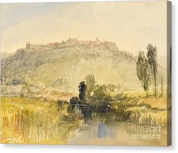 Carisbrooke Castle Canvas Print by Joseph Mallord William Turner