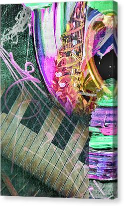 Careless Whisper Canvas Print by Pamela Williams