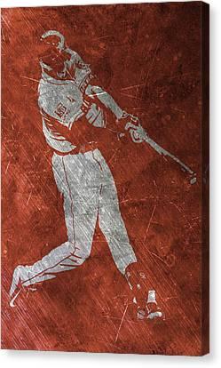 Carlos Correa Houston Astros Art Canvas Print by Joe Hamilton