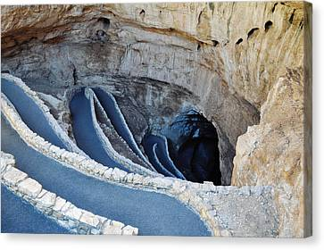 Carlsbad Caverns Natural Entrance Canvas Print
