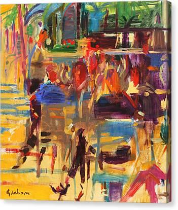 Carlton Croisette  Cannes  Canvas Print