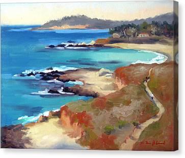 Carmel Beach Canvas Print