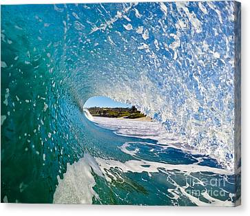 Canvas Print featuring the photograph Carmel Blues by Paul Topp