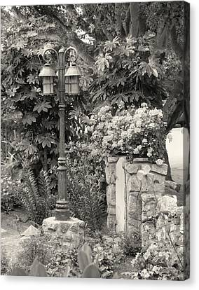 Carmel Garden Canvas Print by Gordon Beck