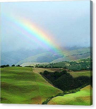 Carmel Valley Rainbow Canvas Print