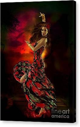 Dancer Canvas Print - Carmen by Shanina Conway