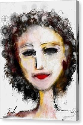 Carmine Canvas Print by Elaine Lanoue