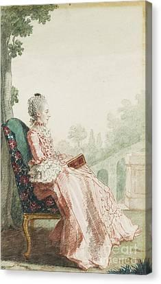 Carmontelle La Marquise De Pons Canvas Print by MotionAge Designs