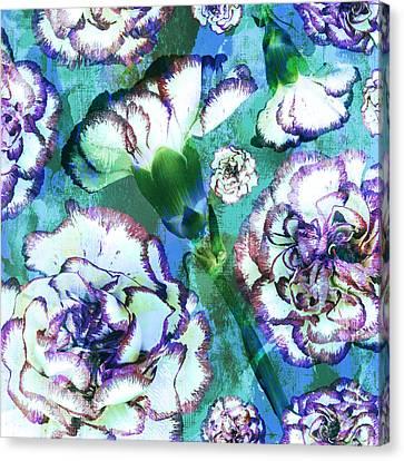 Carnation Dreams Canvas Print by Susanne Kasielke