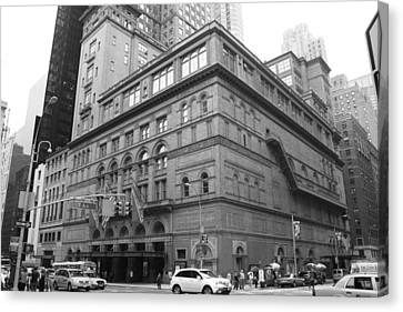 Carnegie Hall Canvas Print by Christopher Kirby