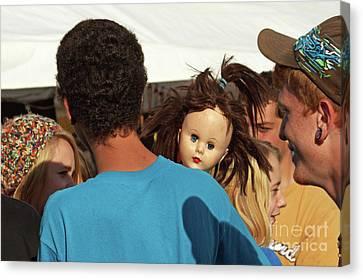 Canvas Print featuring the photograph Carnival Adoption by Joe Jake Pratt