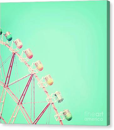 Canvas Print featuring the photograph Carnival by Delphimages Photo Creations