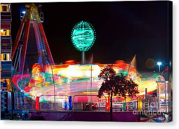 Carnival Excitement Canvas Print by James BO  Insogna