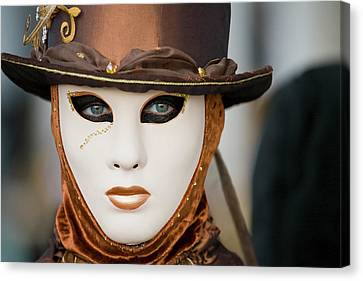 Canvas Print featuring the photograph Carnival In Brown by Stefan Nielsen