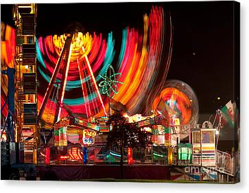 Carnival In Motion Canvas Print by James BO  Insogna