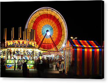 Carnival Midway Canvas Print