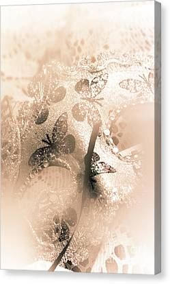 Hidden Face Canvas Print - Carnival Mystery by Jorgo Photography - Wall Art Gallery