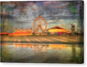 Carnival - Old Orchard Beach - Maine Canvas Print
