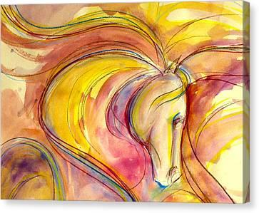 Gypsy Canvas Print - Carnival Queen by Jennifer Fosgate