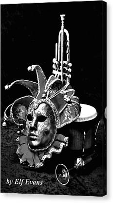 Canvas Print featuring the photograph Carnival Time by Elf Evans