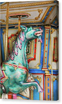 Carnival - Year Of The Dragon Canvas Print by Mike Savad