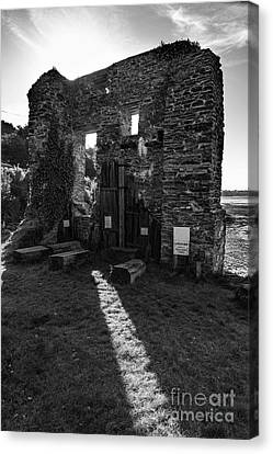 Canvas Print featuring the photograph Photographs Of Cornwall Carnon Mine by Brian Roscorla