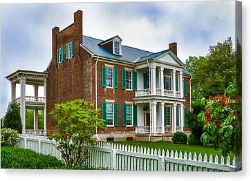 Carnton Plantation Canvas Print - Carnton Plantation by Richard Marquardt