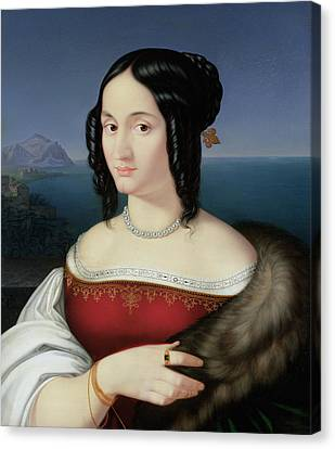 Carolina Grossi Canvas Print by Peter von Cornelius