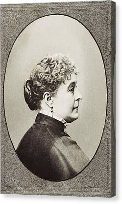Caroline Lavinia Scott Harrison Known Canvas Print by Vintage Design Pics