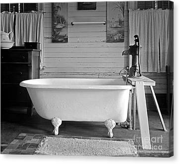Canvas Print featuring the photograph Caroline's Key West Bath by John Stephens